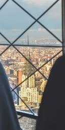 Vistas del Rockefeller Center desde el Empire State