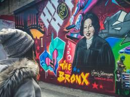 Graffiti de El Bronx en Nueva York